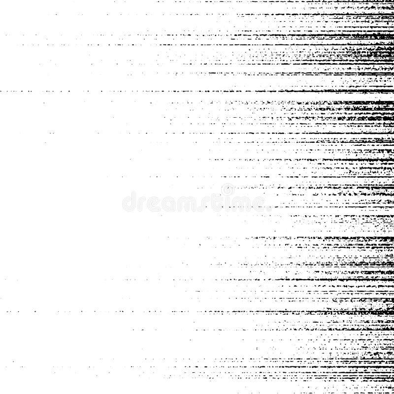 Fondo afflitto bianco e nero astratto di lerciume della particella illustrazione vettoriale