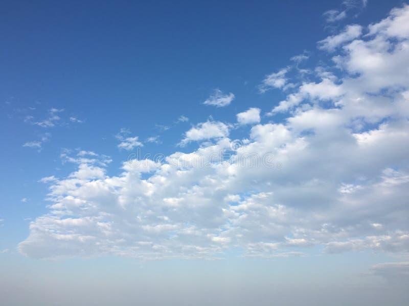 Fondo agradable del cielo del tiempo imágenes de archivo libres de regalías