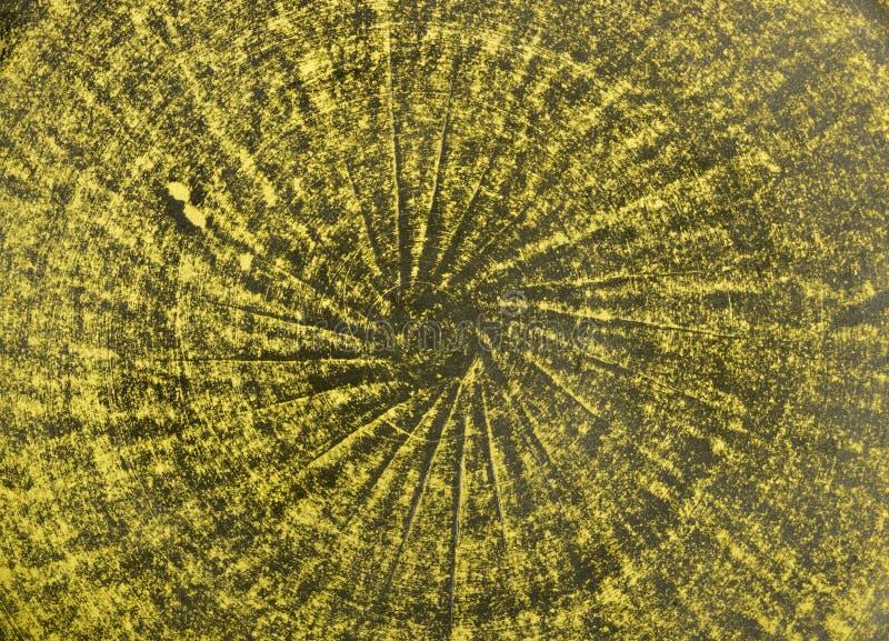 Fondo al forno arancio e verde delle terraglie dell'argilla fotografie stock