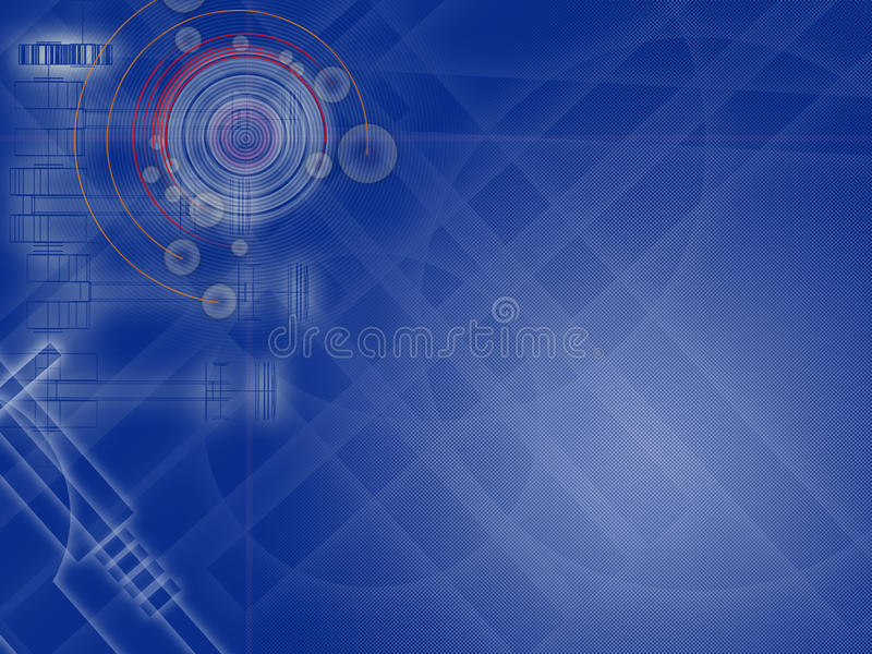 Fondo alta tecnologia royalty illustrazione gratis