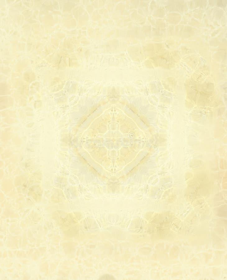 Fondo amarillento ilustración del vector