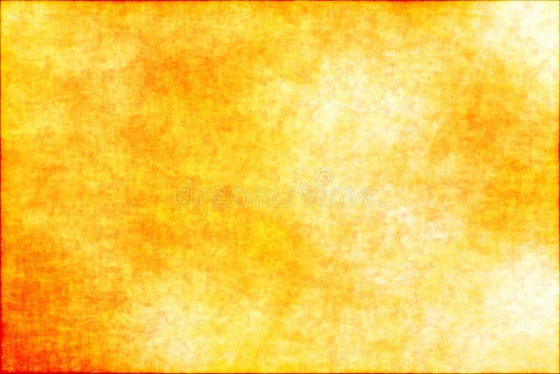 Fondo amarillo abstracto del grunge foto de archivo