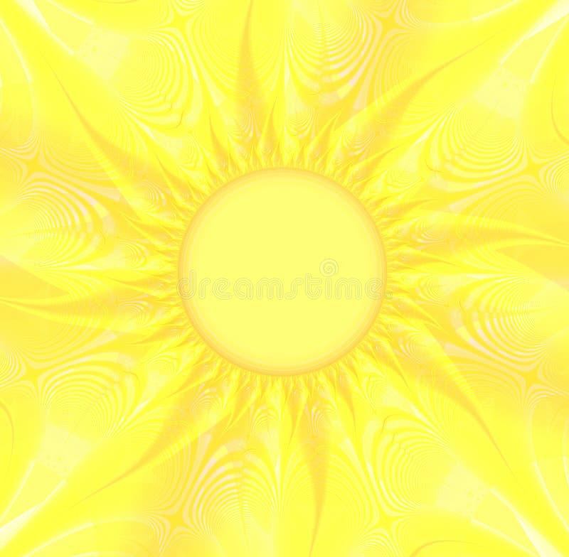 Fondo amarillo asoleado imagen de archivo libre de regalías
