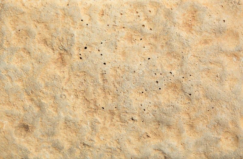 Fondo Amarillo Claro De La Roca Imagen de archivo libre de regalías