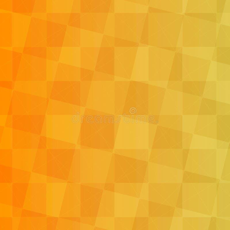 Fondo amarillo con los cuadrados imagenes de archivo