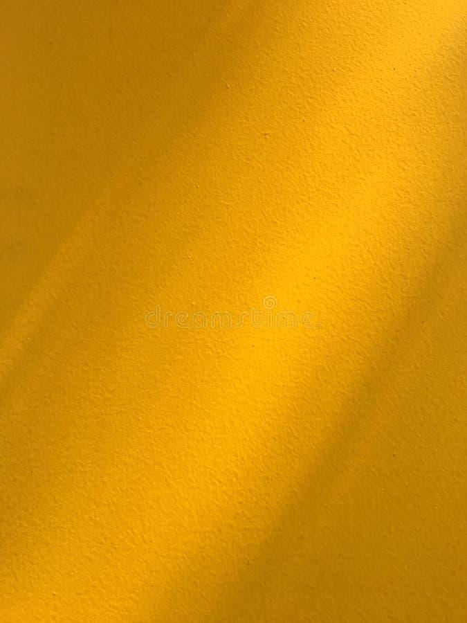 Fondo amarillo de la pared foto de archivo libre de regalías