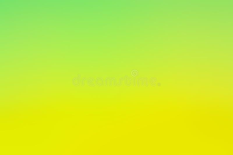 Fondo amarillo verde borroso abstracto del color imagenes de archivo