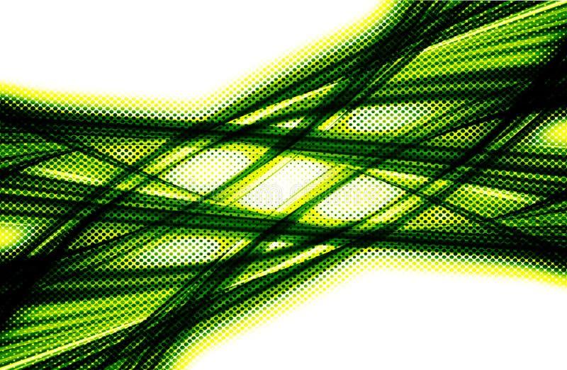 Fondo amarillo y verde libre illustration