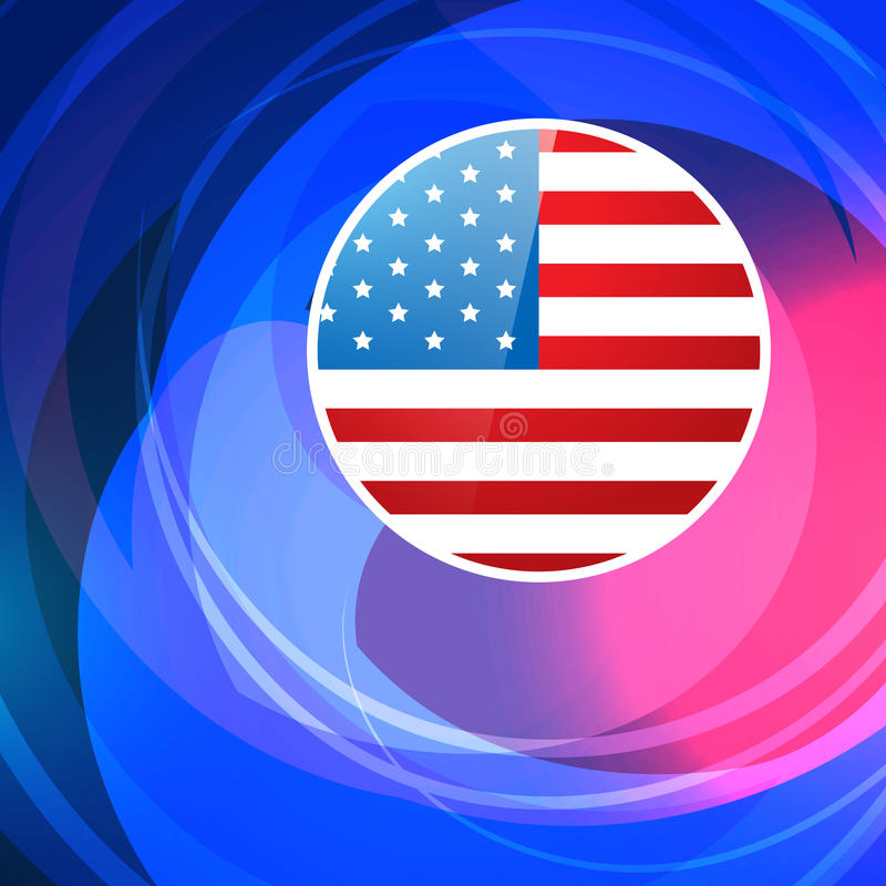 Download Fondo americano elegante ilustración del vector. Ilustración de bandera - 41919165