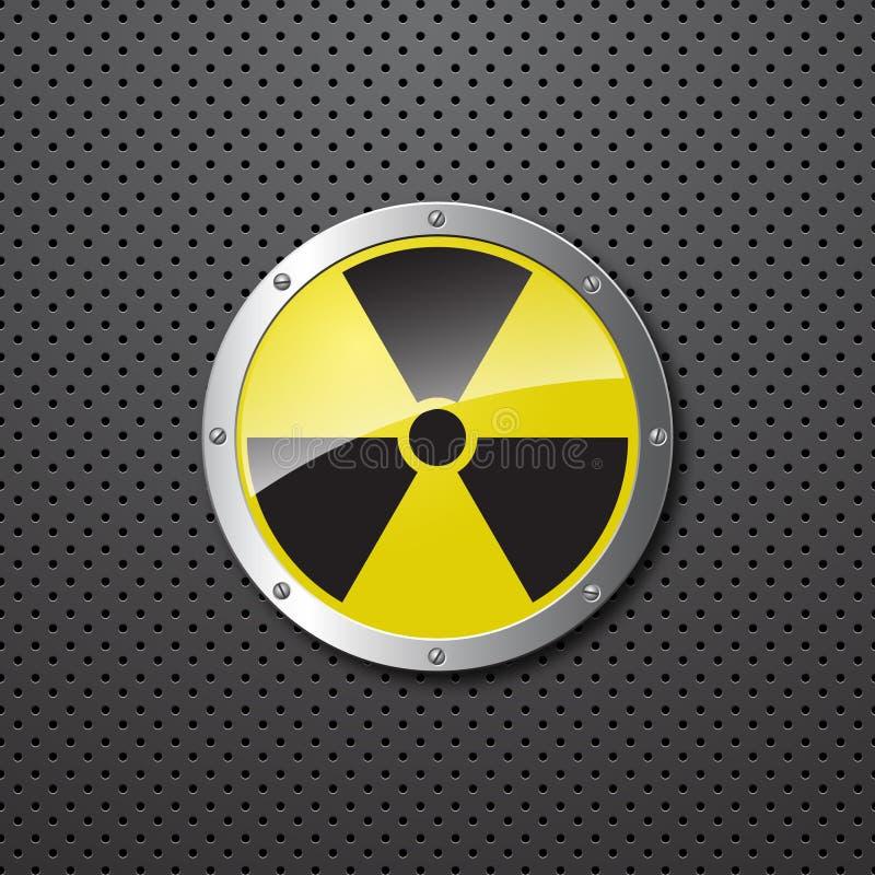 Fondo amonestador nuclear libre illustration