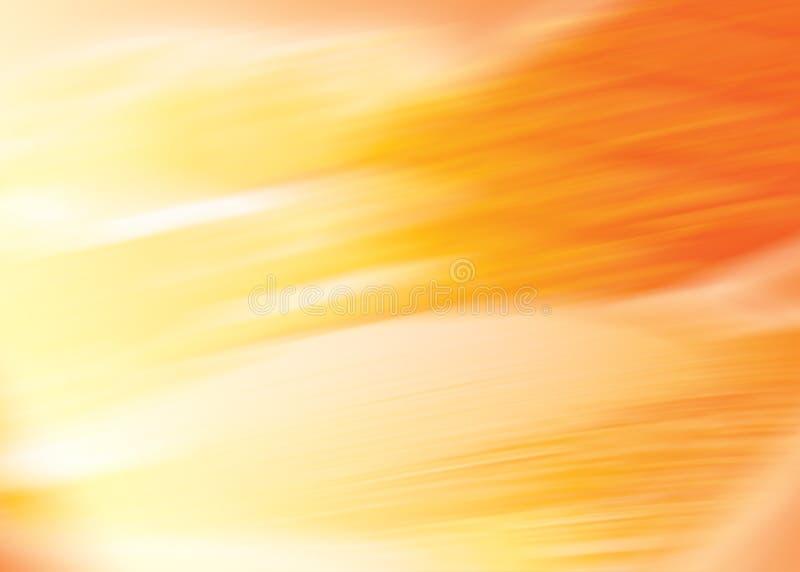 Fondo anaranjado stock de ilustración