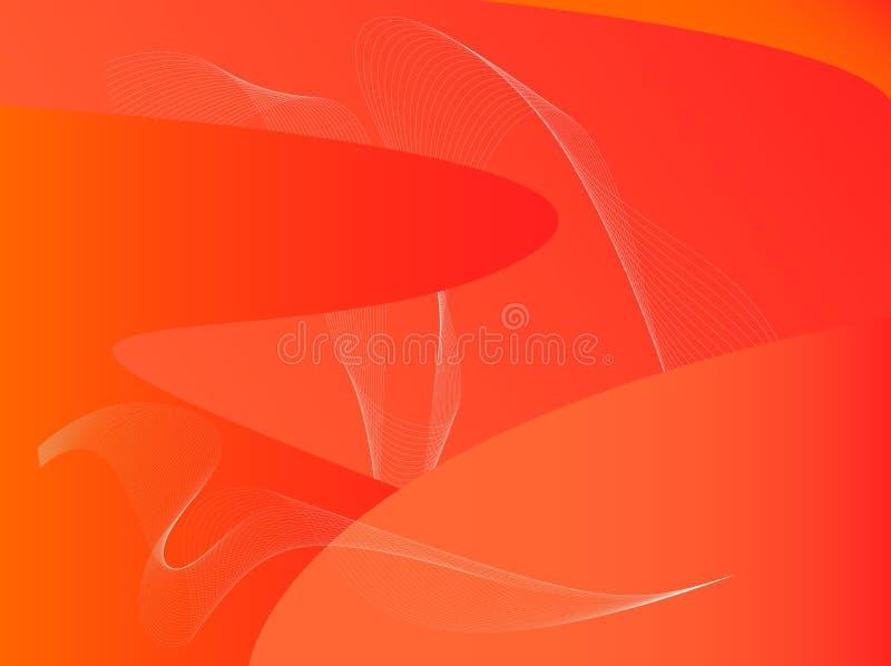 Fondo anaranjado libre illustration
