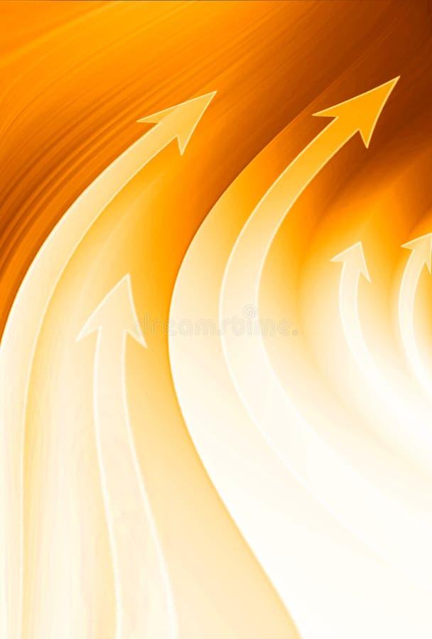 Fondo anaranjado abstracto libre illustration