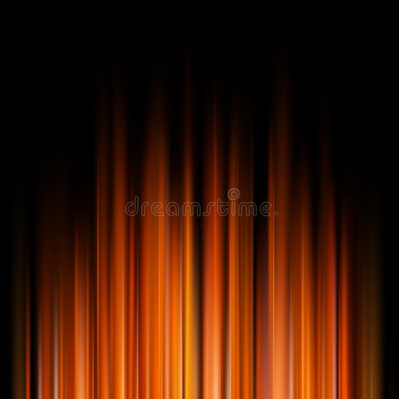 Fondo anaranjado abstracto oscuro EPS 10 stock de ilustración