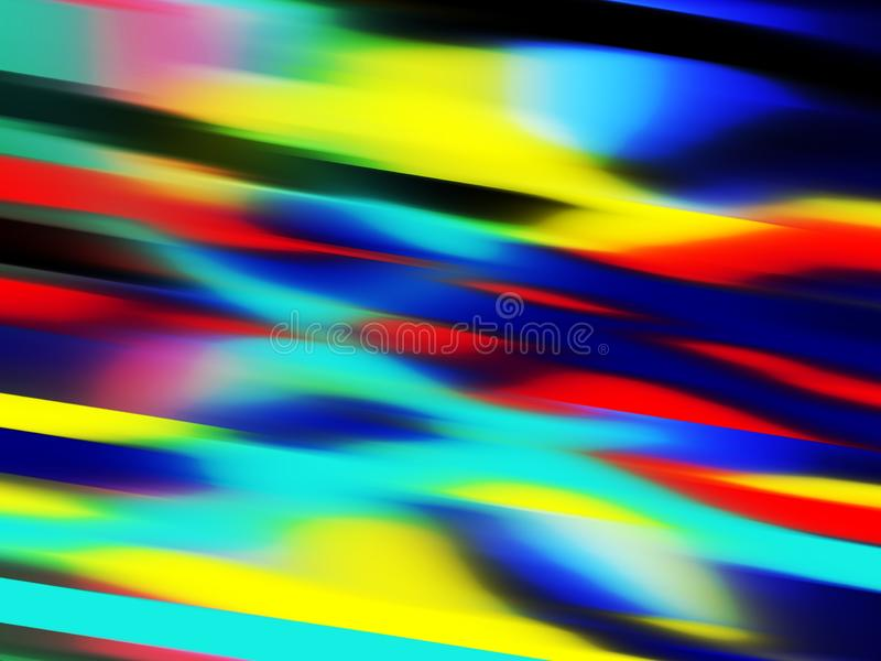 Fondo anaranjado azul rojo vivo brillante de luces suaves, gráficos, fondo abstracto y textura fotos de archivo