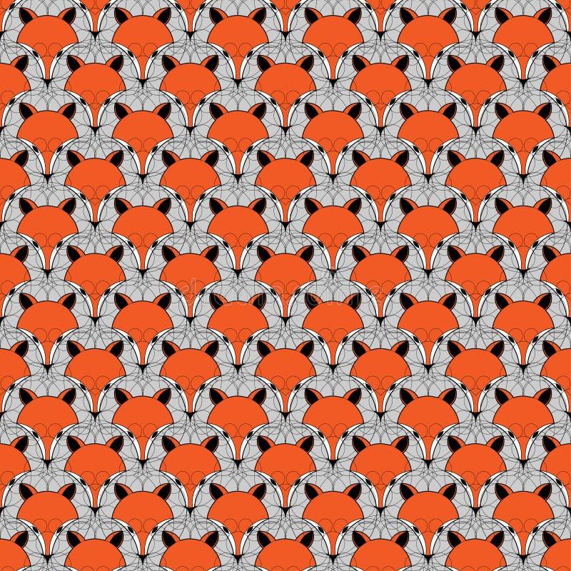 Fondo anaranjado Contexto animal del firefox fotografía de archivo