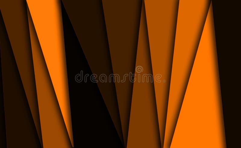 Fondo anaranjado de la textura stock de ilustración