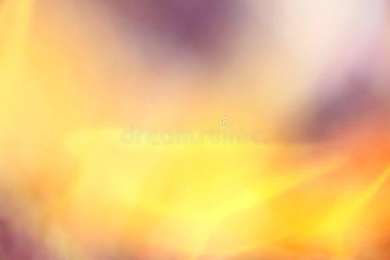 Fondo anaranjado de oro borroso libre illustration