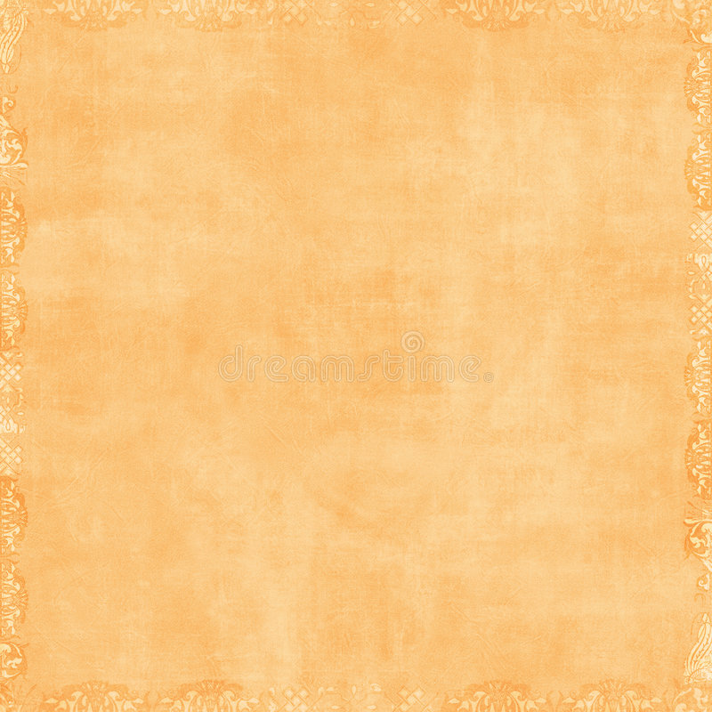 Fondo anaranjado del libro de recuerdos del melocotón suave fotografía de archivo