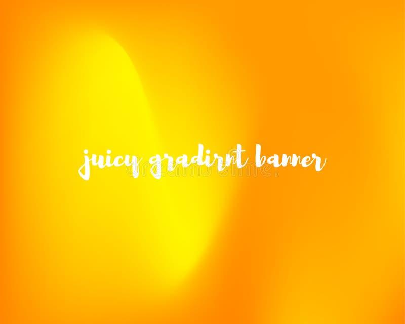 Fondo anaranjado jugoso de la pendiente libre illustration