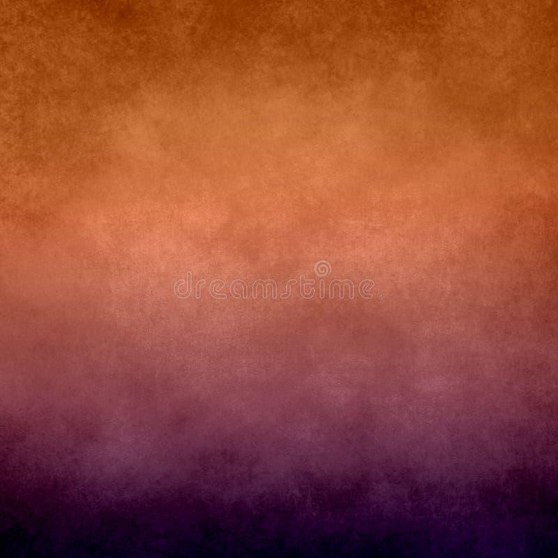Fondo anaranjado y púrpura abstracto foto de archivo