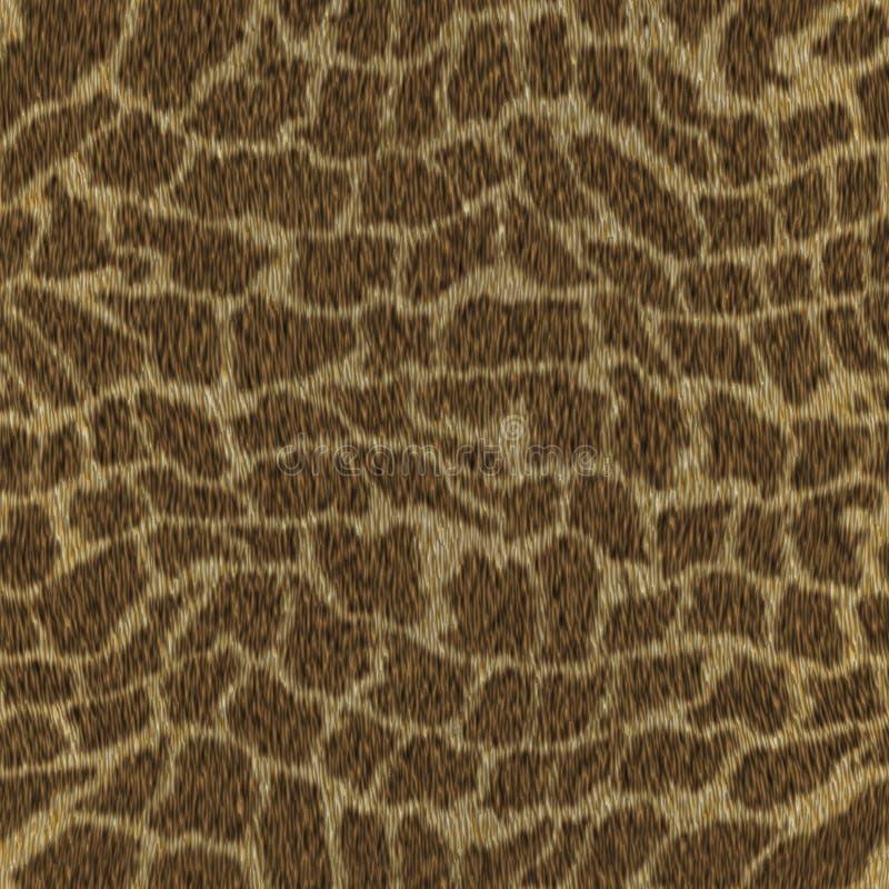 Fondo animale della pelliccia della giraffa senza cuciture fotografie stock