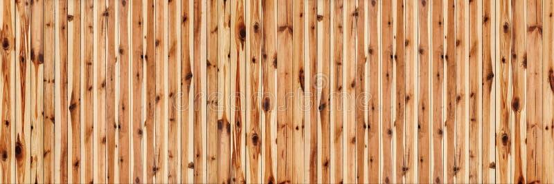 Fondo annodato rustico di alta risoluzione delle plance di Pinewood immagine stock