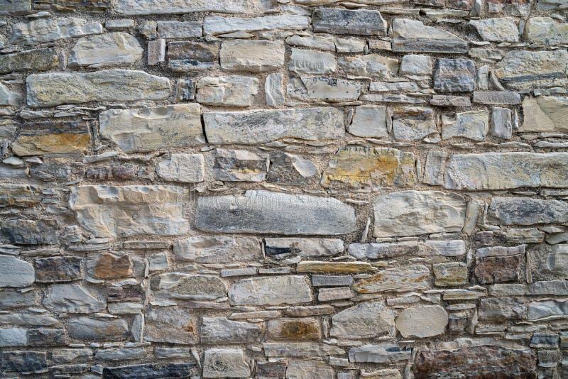 Fondo antiguo de la pared de piedra Pano Lefkara, Chipre imagen de archivo libre de regalías