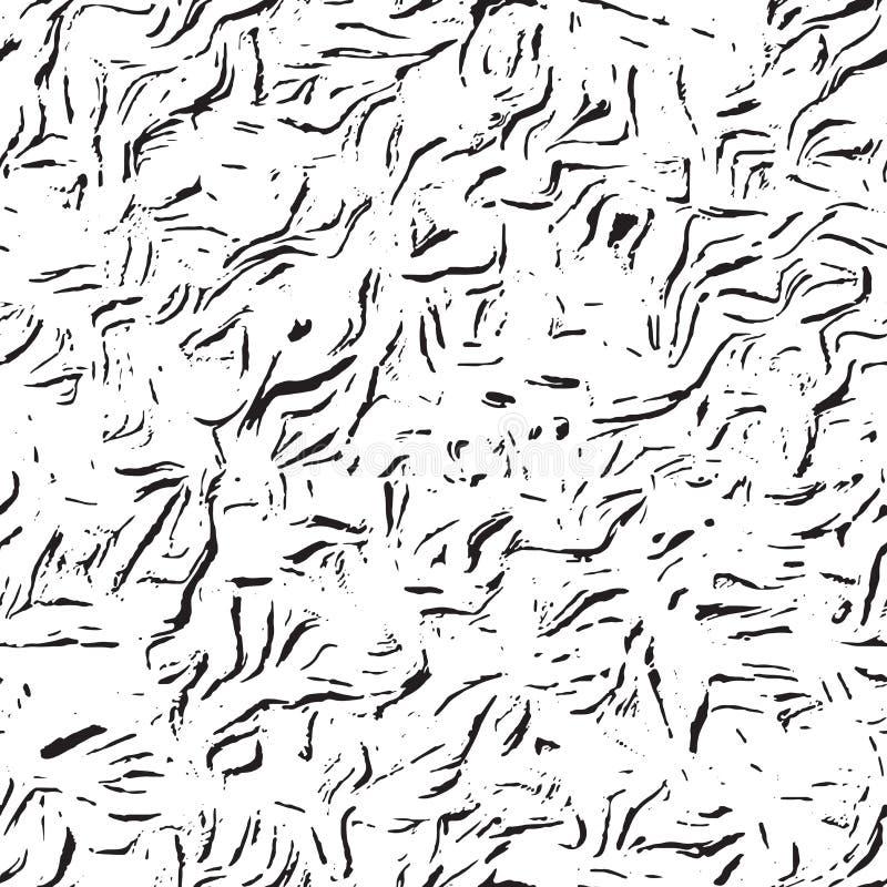 Fondo apenado inconsútil, modelo abstracto de la textura de los rasguños libre illustration
