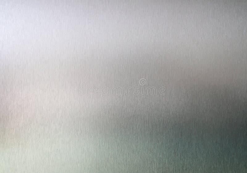 Fondo aplicado con brocha de la textura del metal imagen de archivo libre de regalías