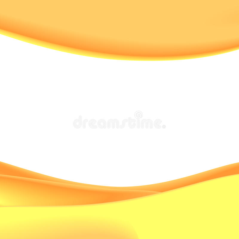Fondo arancio royalty illustrazione gratis