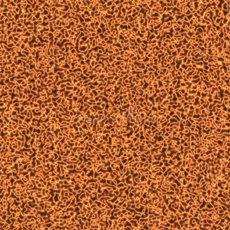 Fondo arancio astratto di elettricità immagine stock