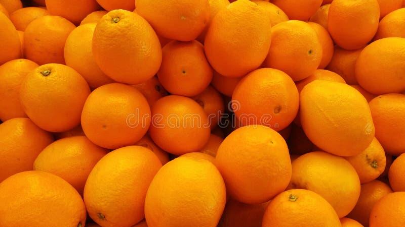 Fondo arancio del mucchio fotografie stock libere da diritti