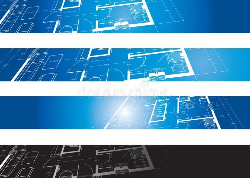 Fondo arquitectónico libre illustration