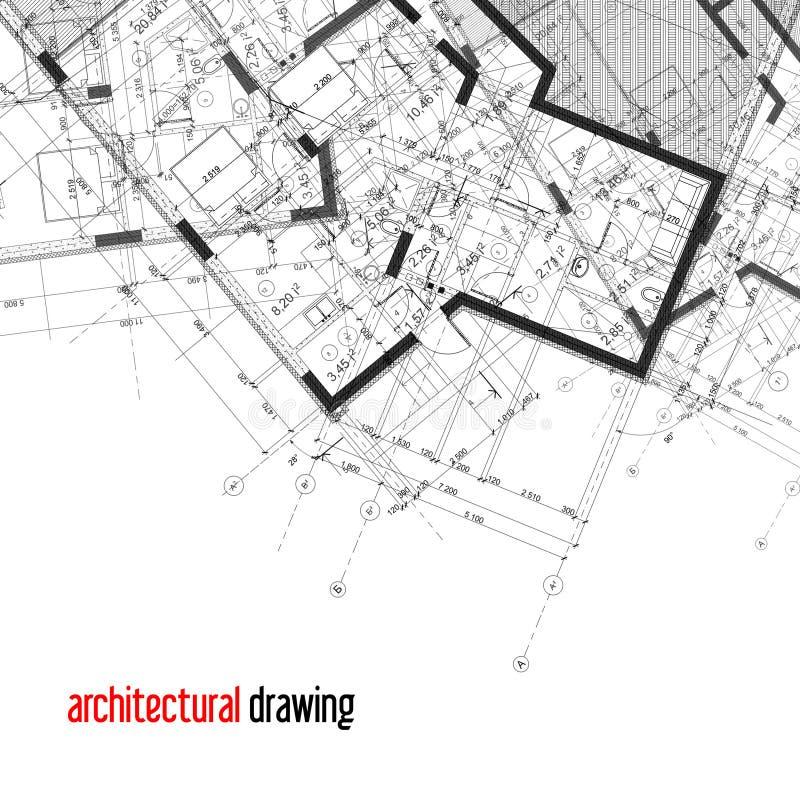 Fondo arquitectónico foto de archivo libre de regalías