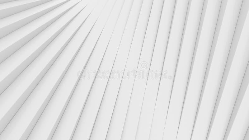Fondo arquitectónico abstracto blanco fotografía de archivo