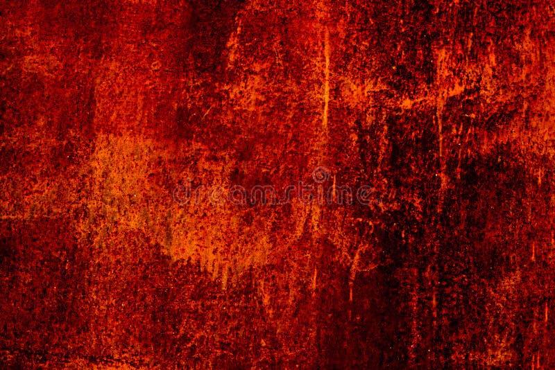 Fondo arrugginito indossato scuro di struttura del metallo grunge Metallico Struttura arrugginita scura del metallo Effetto d'ann fotografie stock libere da diritti