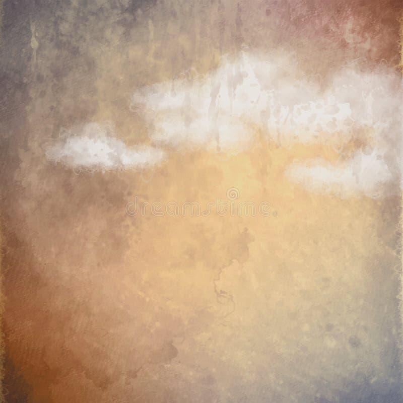 Fondo artístico de la pintura al óleo abstracta libre illustration