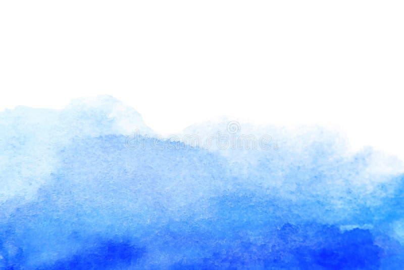 Fondo artístico dibujado mano abstracta de la acuarela libre illustration