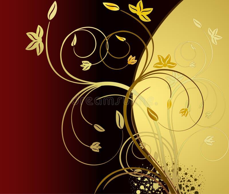 Fondo artístico floral del vector libre illustration