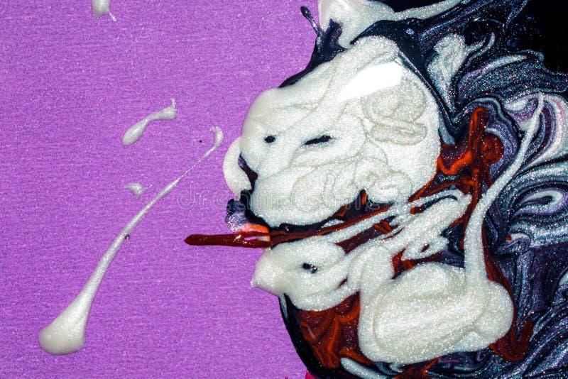Fondo, arte ed arte astratti della pittura a olio fotografie stock libere da diritti
