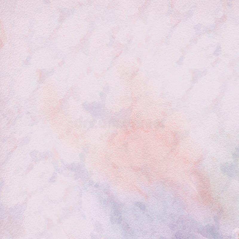 Fondo artistico astratto, acquerello illustrazione di stock