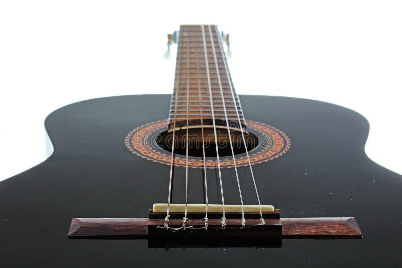 Fondo artsy del POV de la guitarra Ejemplo de la música imagen de archivo