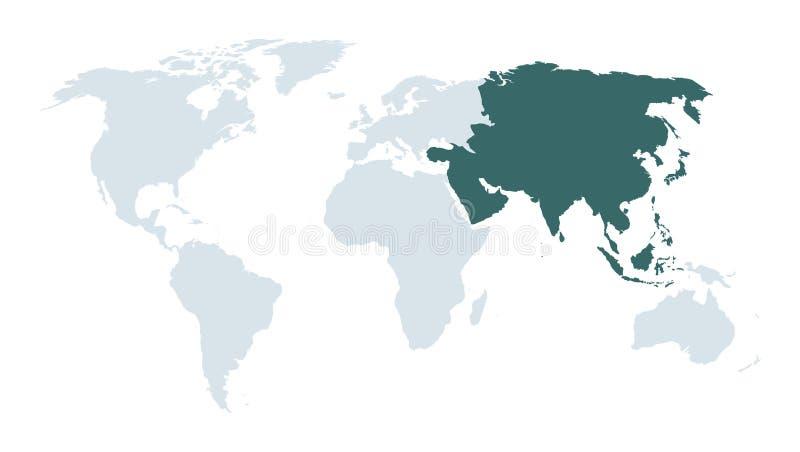 Fondo asiático de los hechos ilustración del vector