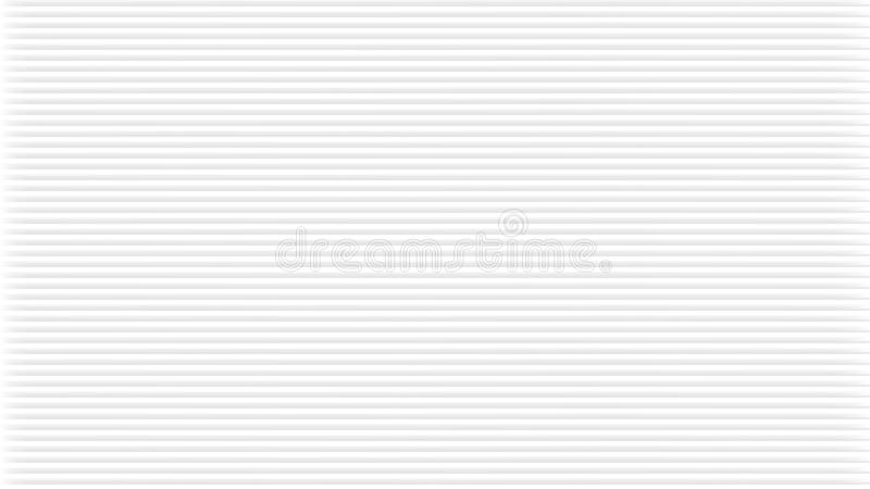 Fondo astratto bianco con struttura arrotondata Il modello regolare, può essere piastrellato, nel vettore Bande grigio chiaro ver royalty illustrazione gratis