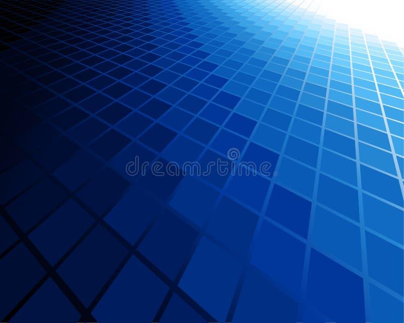 Fondo astratto blu illustrazione vettoriale