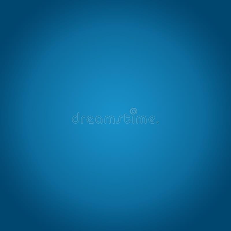Fondo astratto blu di pendenza per il Natale di inverno illustrazione di stock