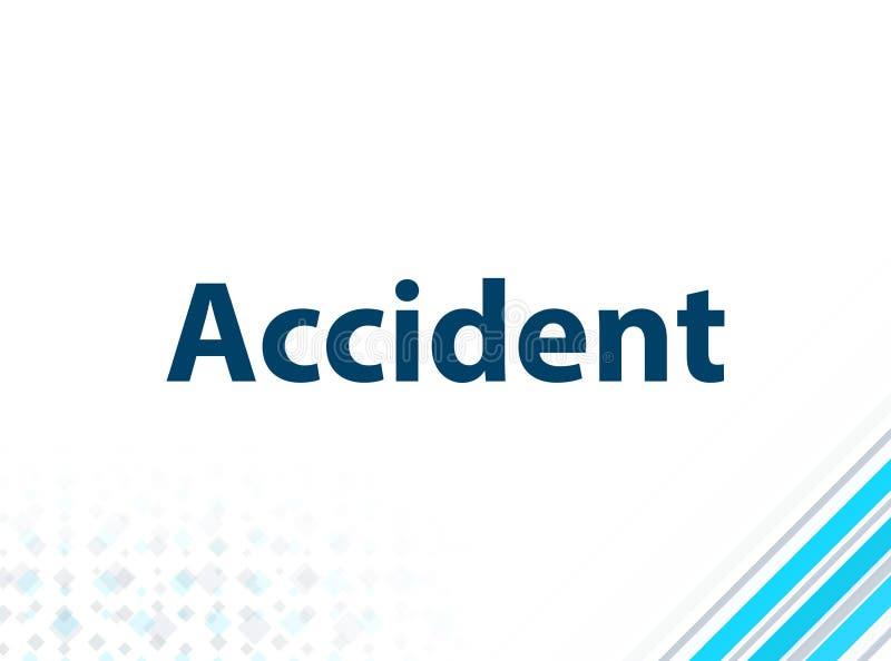 Fondo astratto blu di progettazione piana moderna di incidente illustrazione di stock