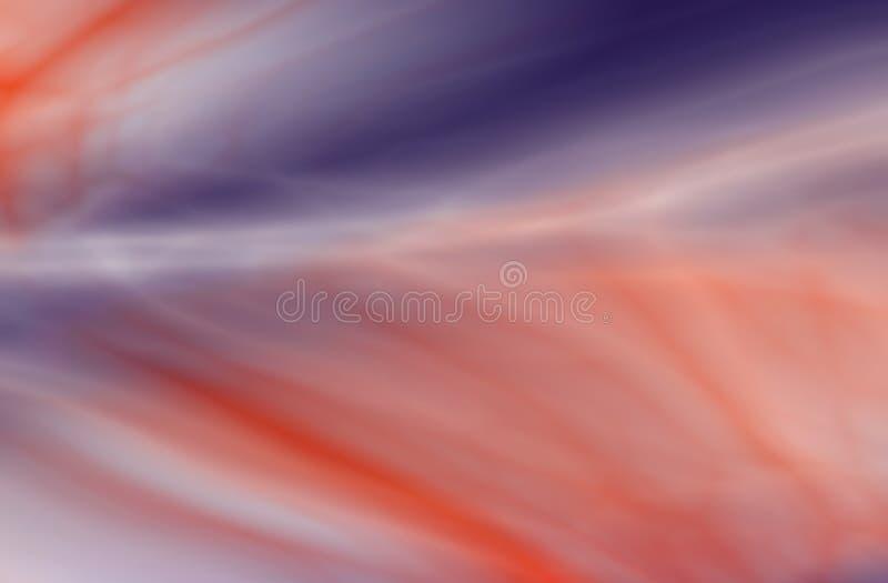 Fondo astratto che ricorda di una nebulosa di colore illustrazione di stock