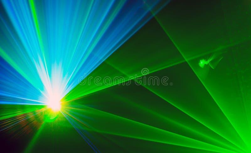 Fondo astratto Colourful di Laserlight con spazio per testo o immagini stock